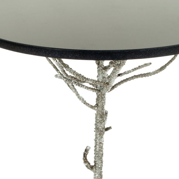 Safavieh Carolyn Rooted Silver Accent Table FOX2512B
