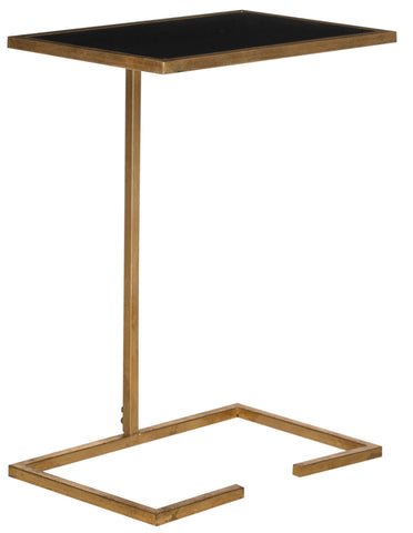 Safavieh Neil Gold Leaf Accent Table FOX2528B