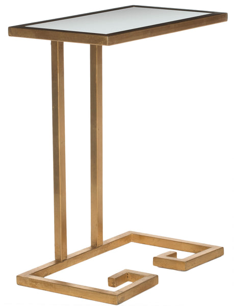 Safavieh Murphy Gold Leaf Accent Table FOX2529A