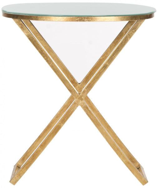 Safavieh Riona Round Top Accent Table FOX2539A