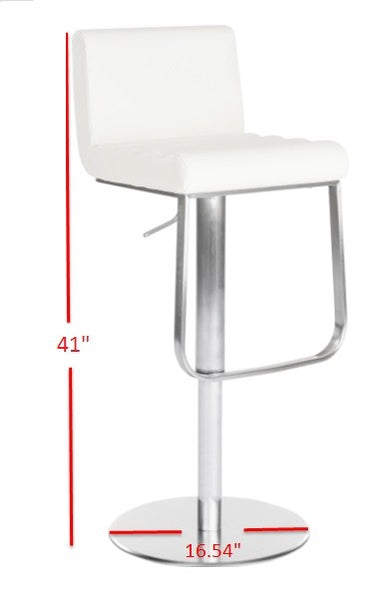 Safavieh Stanley Gas Lift Swivel Barstool FOX3003A
