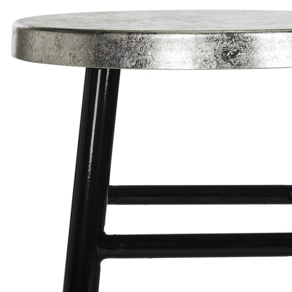 Safavieh Kenzie Silver Dipped Counter Stool FOX3211A