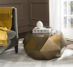 Safavieh Astrid Faceted Coffee Table FOX3223A