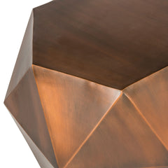 Safavieh Astrid Faceted Side Table FOX3224A