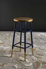 Safavieh Emery Dipped Gold Leaf Barstool FOX3230A