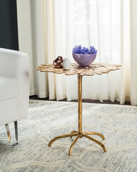 Safavieh Bobby Leaf Side Table FOX3250A