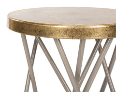 Safavieh Lorna Gold Leaf Counter Stool FOX3255C