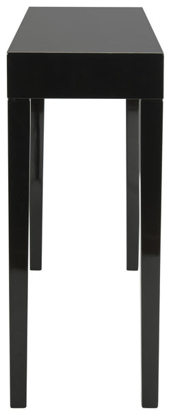 Safavieh Kayson Mid Century Scandinavian Lacquer Console Table FOX4204C