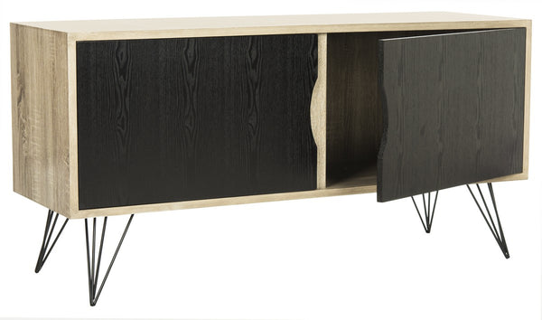 Safavieh Jeralyn Retro Mid Century Wood Sideboard FOX4232A