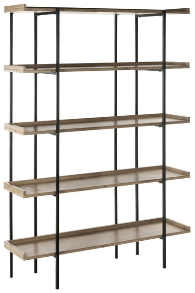 Safavieh Cecilia Retro Mid Century 5 Tier Wood Etagere FOX4271A