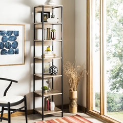 Safavieh Lisa Retro Mid Century 7 Tier Etagere FOX4275A
