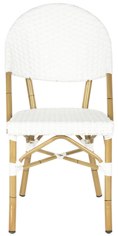 Safavieh Barrow Stacking Indoor-Outdoor Side Chair FOX5203C-SET2