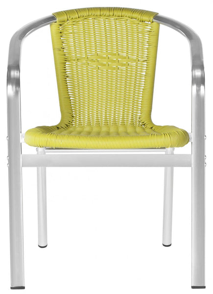 Safavieh Wrangell Indoor-Outdoor Stacking Armchair FOX5207B-SET2
