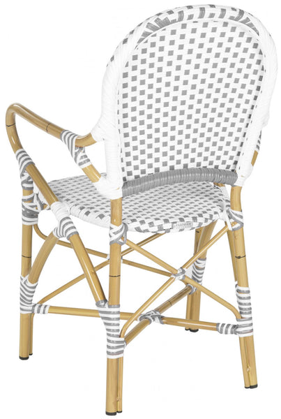 Safavieh Hooper Indoor-Outdoor Stacking Armchair FOX5209B-SET2