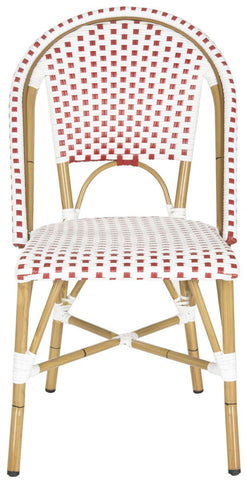 Safavieh Salcha Indoor-Outdoor French Bistro Stacking Side Chair FOX5210C-SET2