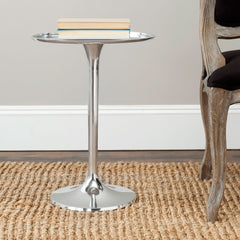 Safavieh Platina Round Top Sleek Table FOX5510A