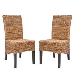 Safavieh Siesta 18''H Wicker Side Chair (Set Of 2) FOX6003A-SET2