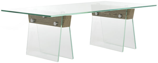 Safavieh Modern Glass Loft Coffee Table FOX6020A