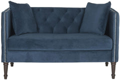 Safavieh Sarah Tufted Settee With Pillows FOX6206D