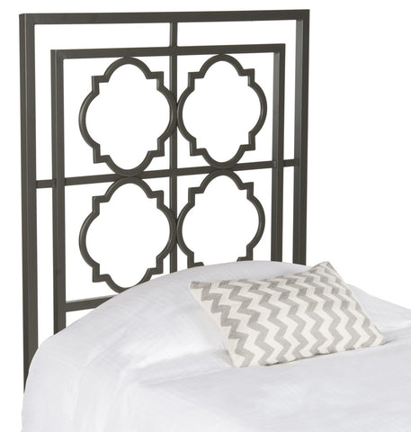 Safavieh Silva Metal Headboard -  Twin FOX6216B-T