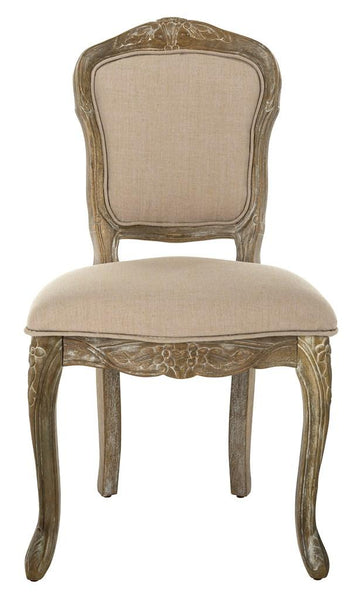 Safavieh Burgess French Leg 37''H French Brasserie Upholstered Side Chair FOX6233B-SET2