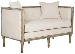 Safavieh Leandra Rustic French Country Settee FOX6237A