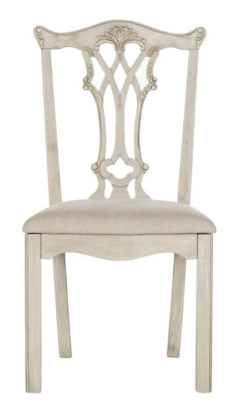 Safavieh Whitfield 20''H Mohagany Chippendale Side Chair FOX6239B-SET2