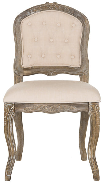 Safavieh Eloise 20''H  French Leg Dining Chair FOX6264A-SET2