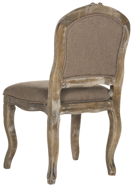 Safavieh Eloise 20''H  French Leg Dining Chair FOX6264C-SET2