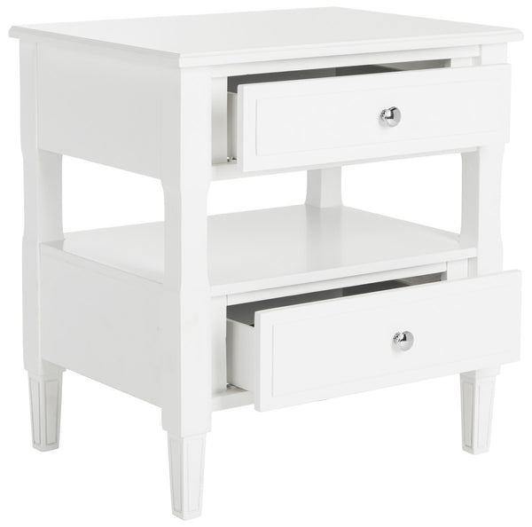 Safavieh Jenson Two Drawer Night Stand FOX6277A