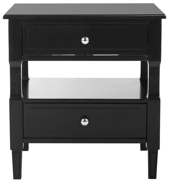 Safavieh Jenson Two Drawer Night Stand FOX6277B