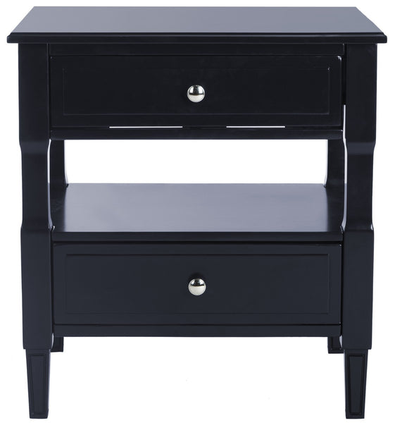 Safavieh Jenson Two Drawer Night Stand FOX6277D