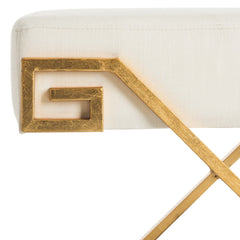 Safavieh Luna Greek Key Bench FOX6281A