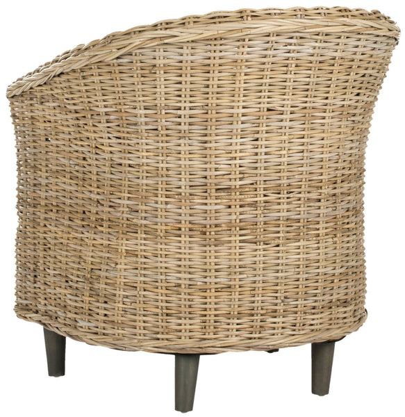 Safavieh Omni Rattan Barrel Chair FOX6501C
