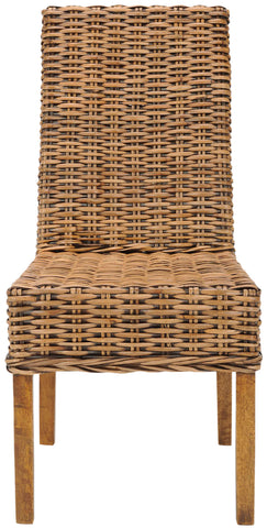 Safavieh Sanibel 18''H Rattan Side Chair (Set Of 2) FOX6504A-SET2