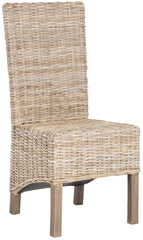 Safavieh Pembrooke 19''H Rattan Side Chair FOX6520B-SET2