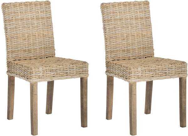 Safavieh Grove 19''H Rattan Side Chair FOX6522A-SET2