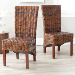 Safavieh Ridge 18''H Rattan Side Chair FOX6523A-SET2