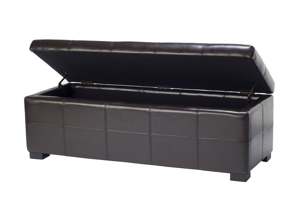 Safavieh Maiden Tufted Storage Bench Lg HUD8229A