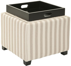 Safavieh Harrison Single Tray Ottoman HUD8233H