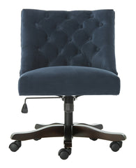 Safavieh Soho Tufted Velvet Swivel Desk Chair MCR1030C