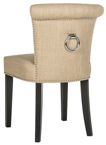Safavieh Sinclair 21''H  Ring Chair (Set Of 2)  - Silver Nail Heads MCR4705E-SET2