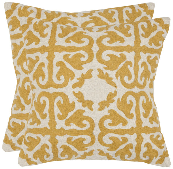 Safavieh Moroccan  Pillow -Pil100F-2222-Set2 PIL100F-2222-SET2