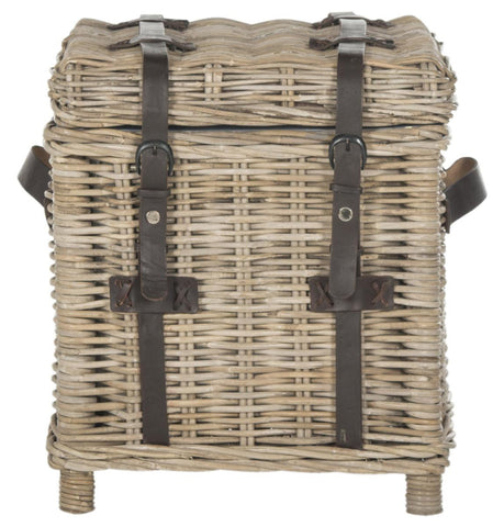 Safavieh Kacia Wicker Side Trunk SEA7023B