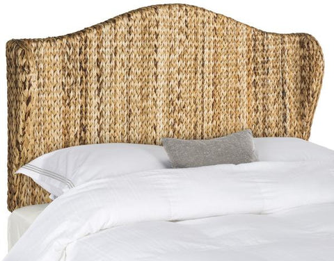 Safavieh Nadine Natural Winged Headboard -  Full SEA8029A-F