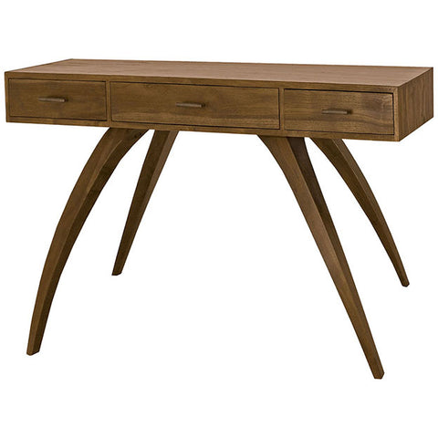 Teak Patio Console With Storage In Euro Teak Oil