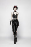 Pvc Lace Up Trousers K-343
