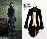 Velvet Aristocratic Frock Coat Ladies Y-334