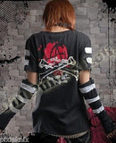 Bondage T-Shirt with detachable arms 71159