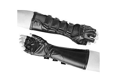 Long gloves with spikes S-214